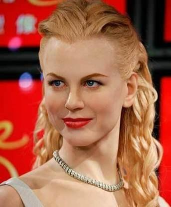 Top Hollywood Actress Nicole Kidman red lips pic