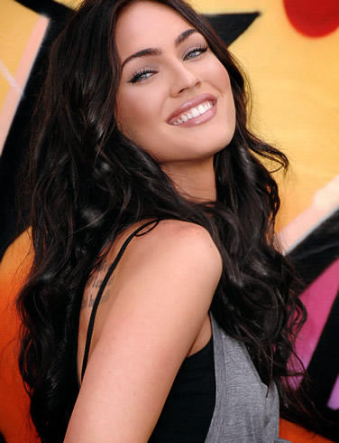 Megan fox sexy smile photo