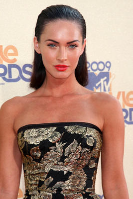 Megan Fox sleeveless dress glamour still