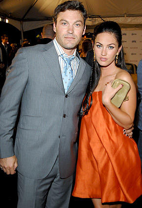 Brian Austin Green and Megan Fox beauty still