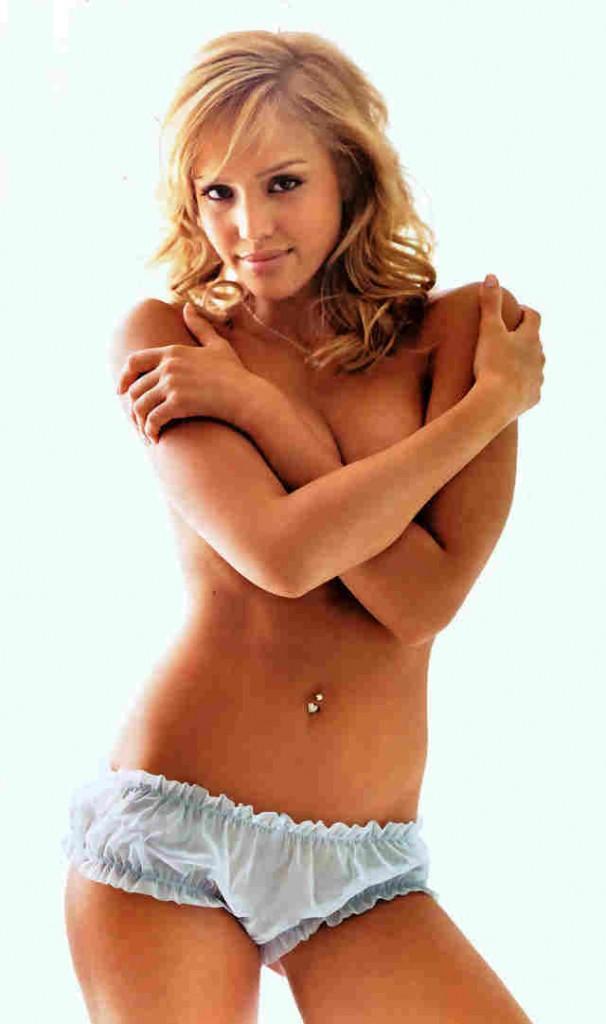 Jessica alba topless dress hot photo