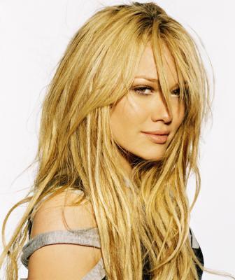 Hilary Duff  latest hair style wallpaper