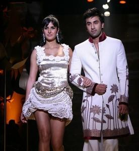 Katrina Kaif and Ranbir Kapoor walk the ramp
