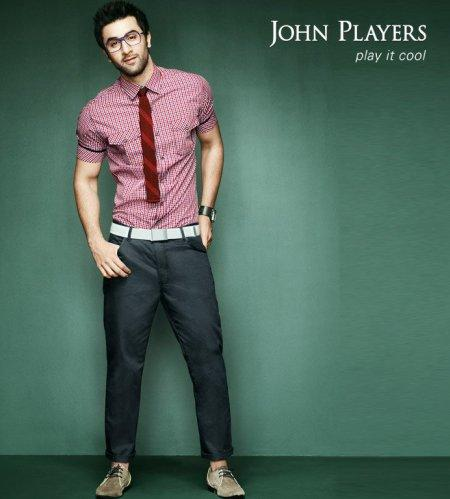John Players India Ranbir Kapoor shirts jeans wallpaper