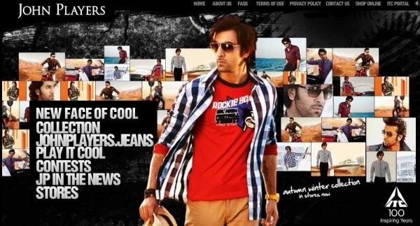 John Players India Ranbir Kapoor latest shirts and new jeans wallpapers