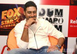 Abhishek Bachchan dum maro dum audio launch stills