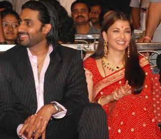 Abhishek Bachchan and aishwarya rai latest photo