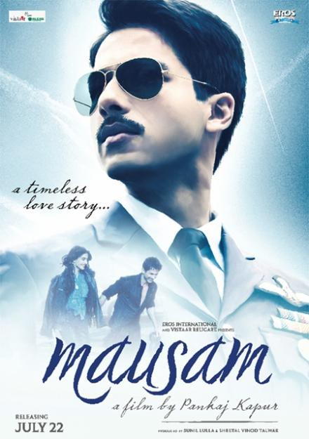 Shahid Kapoor Mausam Movie First Look Poster