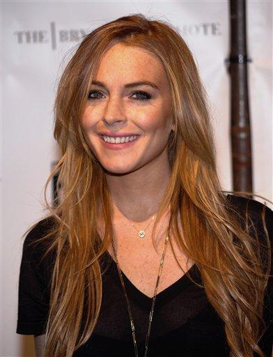 Actress lindsay lohan gorgeous smile pic