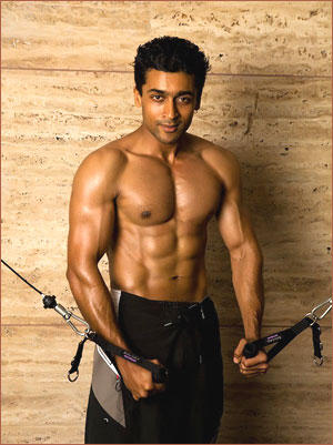 Telugu Sexiest Hero Surya Six Packs Still