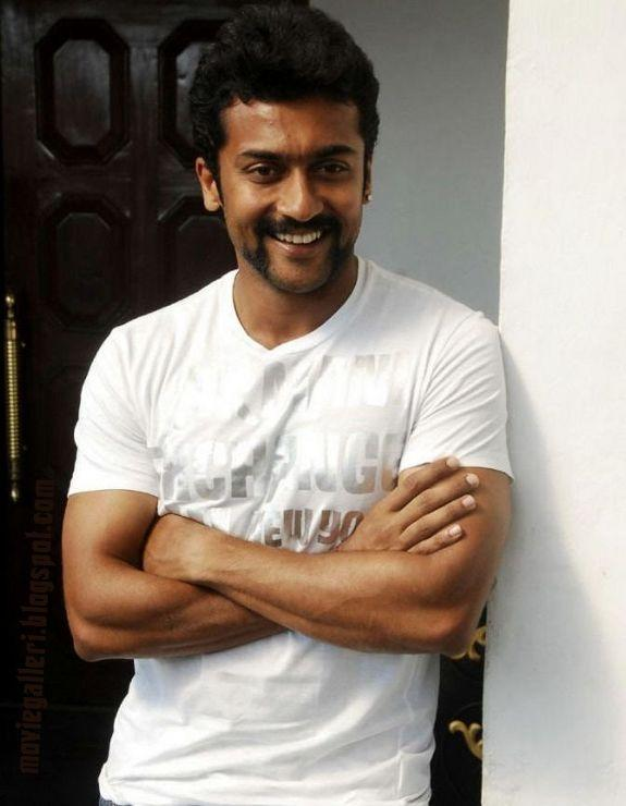 Surya White T Shirt Cute Photo