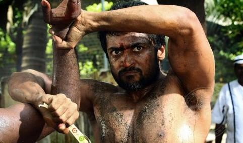 Surya in Rakta Charitra Fight Stills