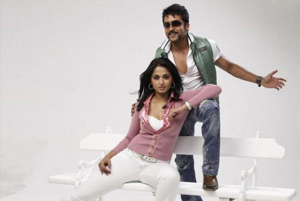 Surya and Anushka in Yamudu