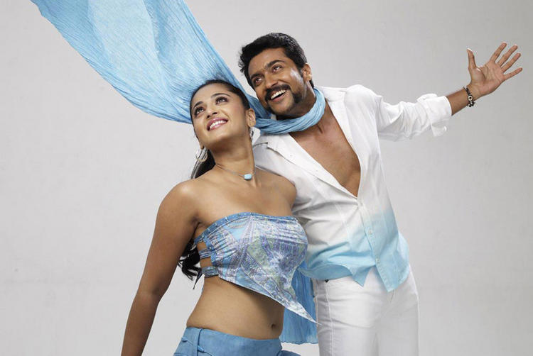 Surya and Anushka Yamudu Latest Still