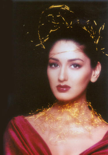Charming Sonali Bendre Wallpaper
