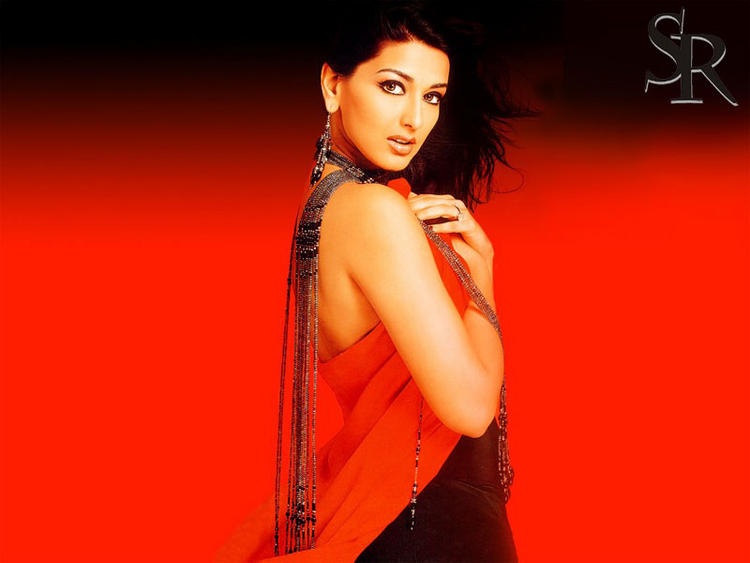 Sonali Bendre Colorful Wallpaper