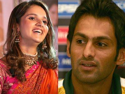 Couple Sania Mirza and Shoaib Malik Pics