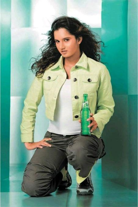 Sania Mirza Sprite Ad Photo