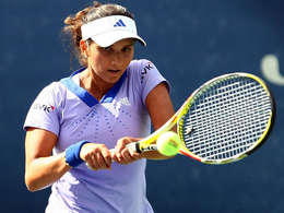 Indian Tennis Player Sania Mirza Photo