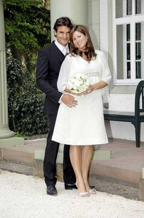 Roger Federer and Mirka Wedding Picture