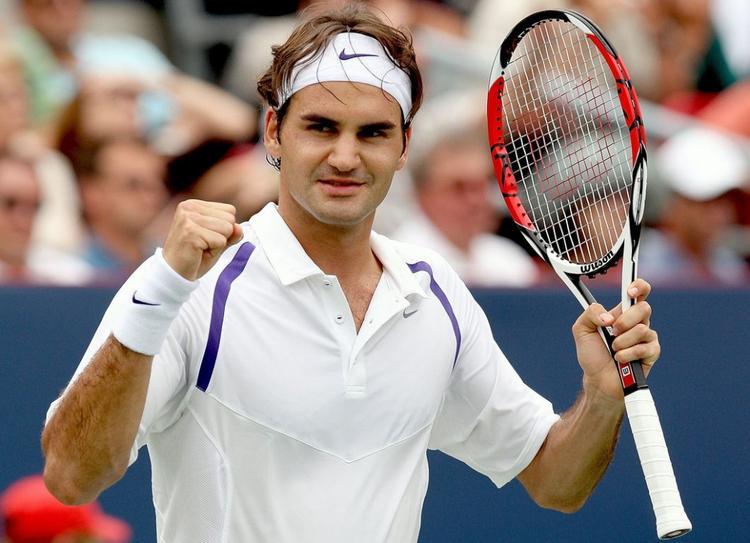 Swiss Tennis Star Roger Federer Photos