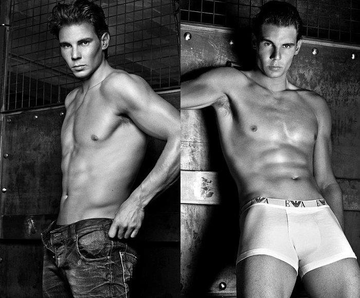 Rafael Nadal Armani Jeans Ad Still