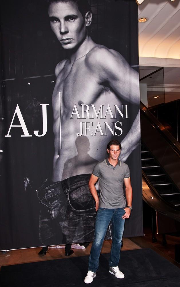 Rafael Nadal Armani Jeans Compaign
