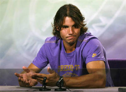 Rafael Nadal Hair Style Still
