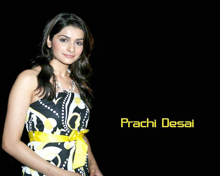 Prachi Desai Sleeveless Dress Wallpaper