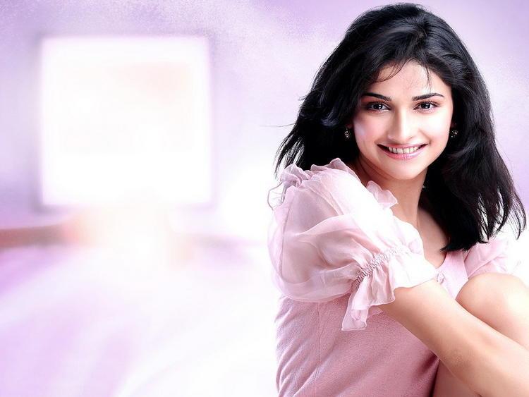 Prachi Desai Pink Dress Sweet Wallpaper