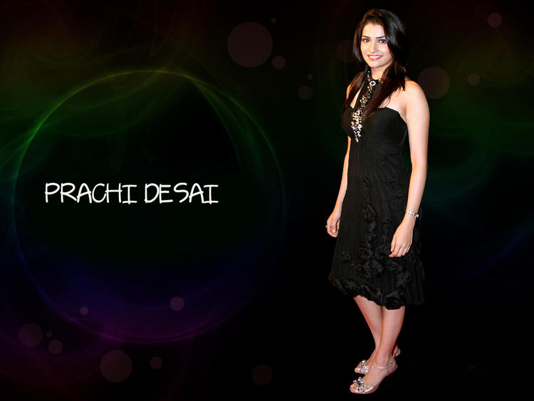 Prachi Desai Short Dress Beauty Wallpaper