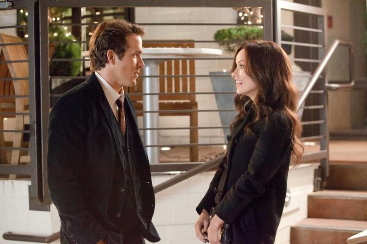 The Change Up Hollywood Movie Olivia Wilde and Ryan Reynolds Photo