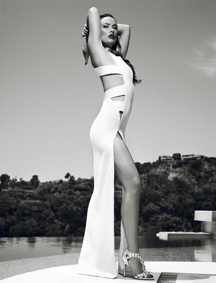 Olivia Wilde Sexy Dressing Photo Shoot