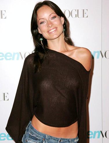 Actress Olivia Wilde Glamour Still