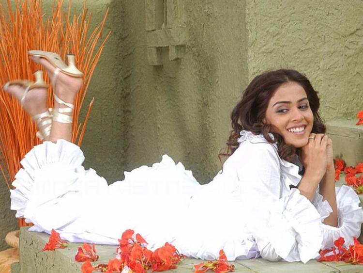 Bubbly Actress Genelia D'souza Pics