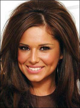 Cheryl Cole Hair Style Sweet Smile Pic