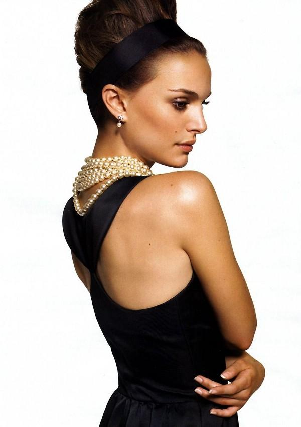 Natalie Portman Hair Style Glamour Photo