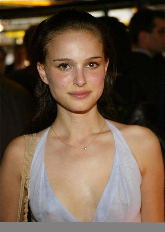 Natalie Portman Hot Face Look