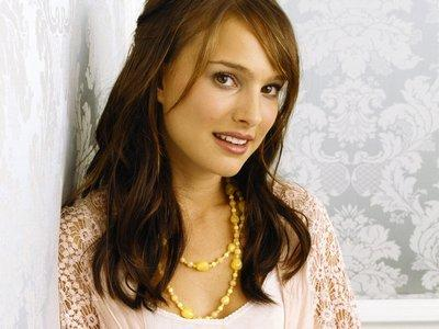 Natalie Portman Cute Face Look