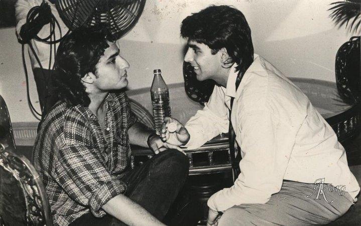 Akshay Kumar and Saif Ali Khan Together Old Photo