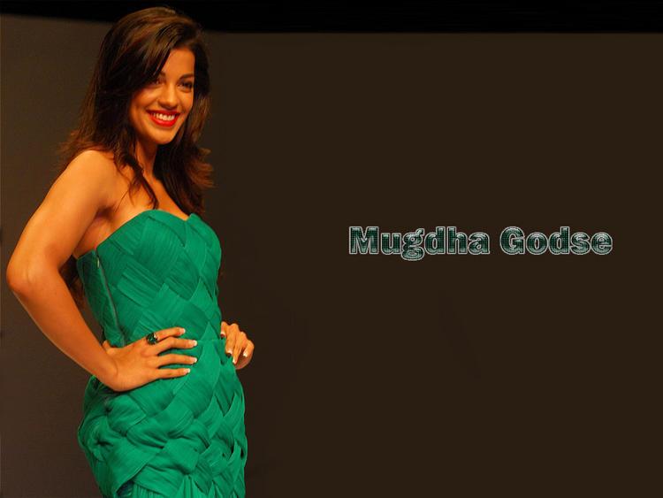 Mugdha Godse Sleeveless Dress Wallpaper