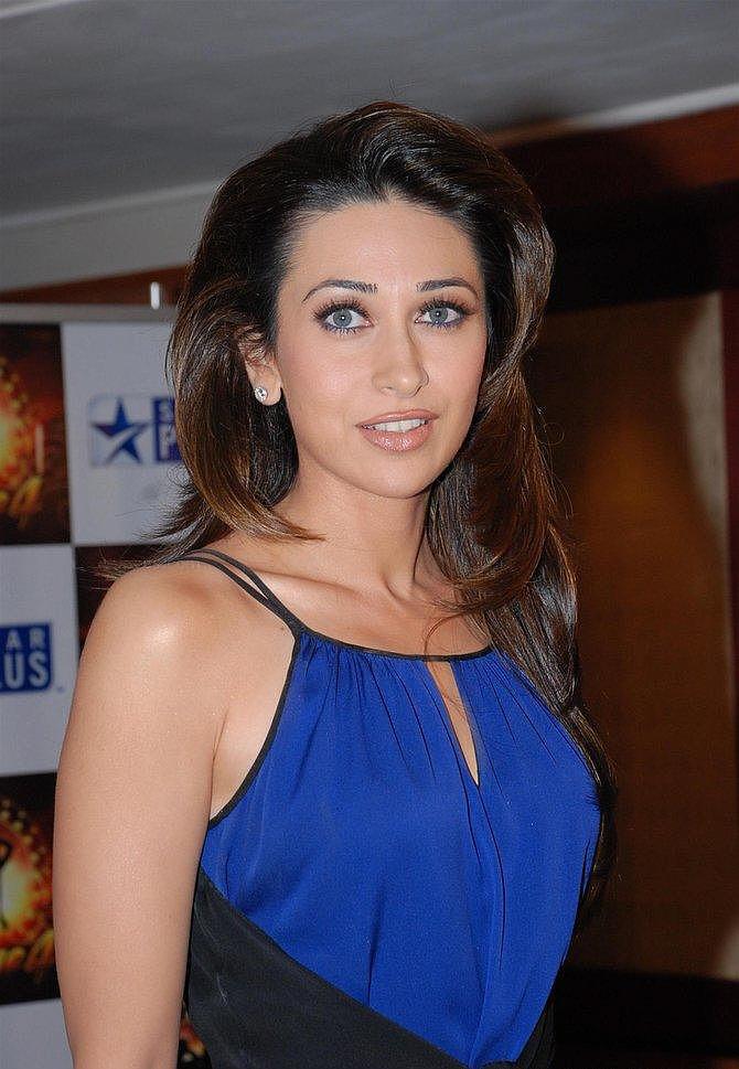Karishma Kapoor Blue Color Dress Still