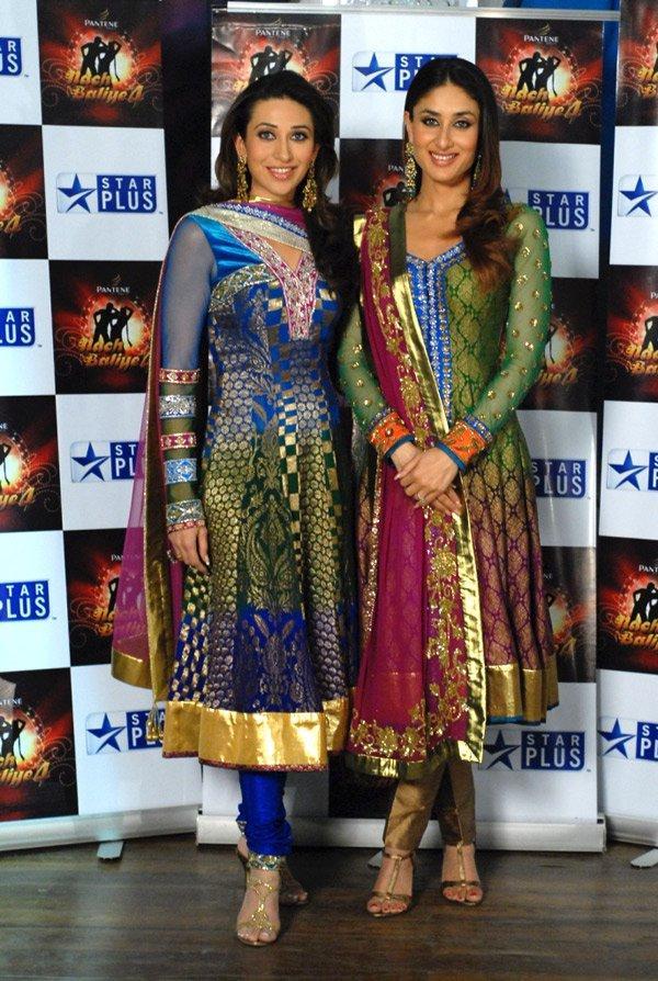 Karishma Kapoor With Kareena in Salwar Suit