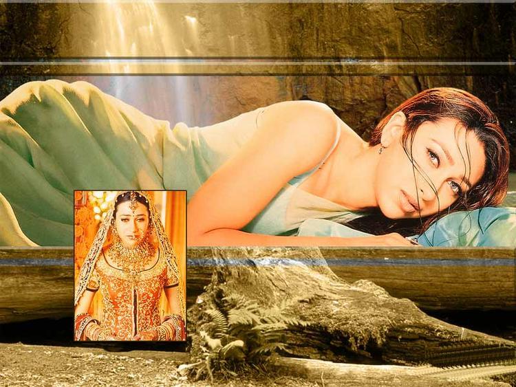 Karishma Kapoor Shocking Wallpaper