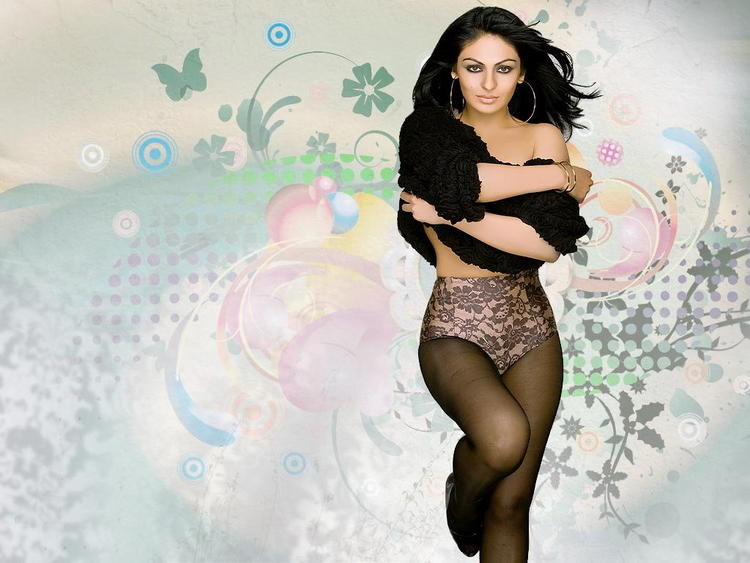Neeru Bajwa Spicy And Sexy Pose Wallapper