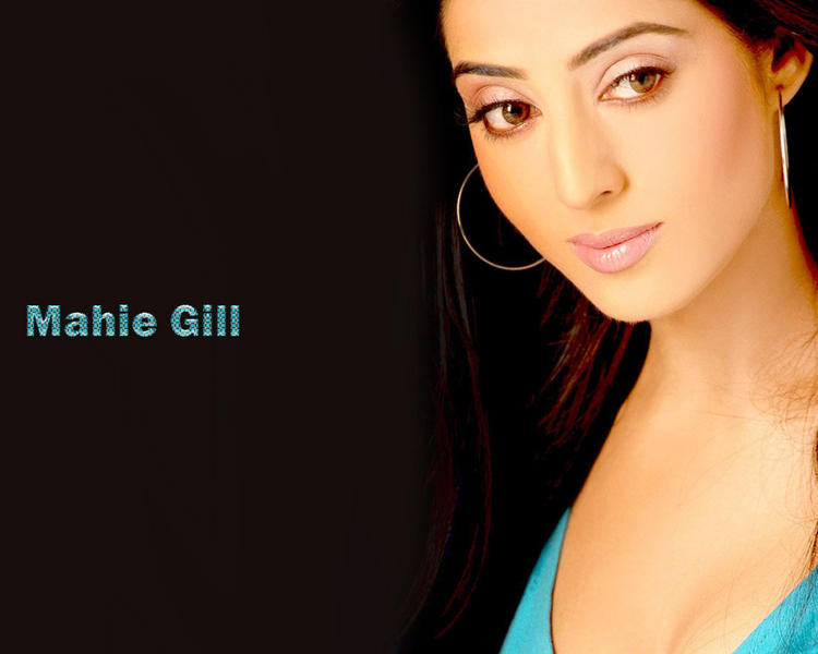 Mahie Gill Romantic Face Wallpaper
