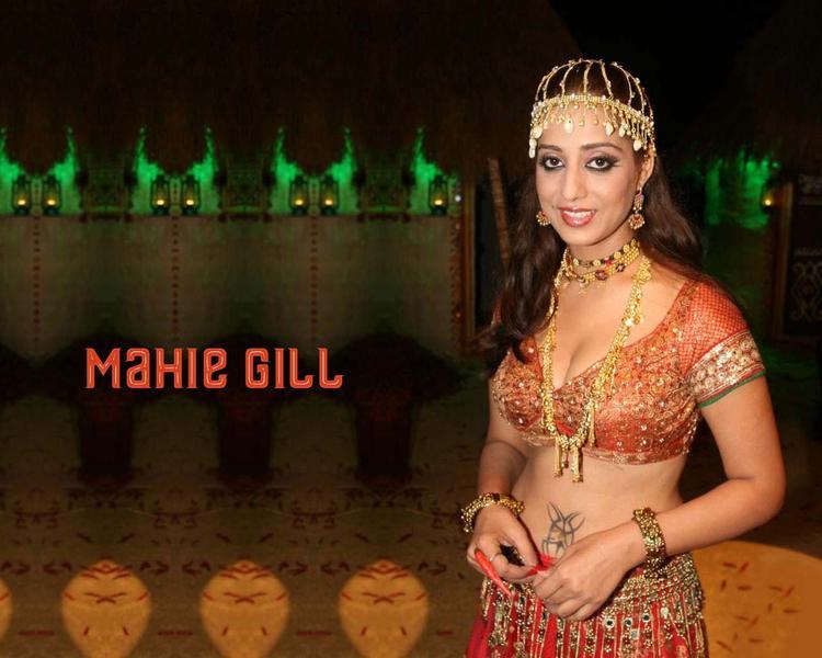 Punjabi Babe Mahie Gill Wallpaper