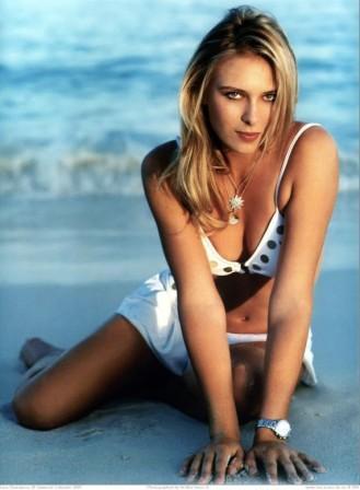 Maria Sharapova Cute Hot Pose Photo Shoot