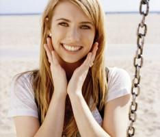 Emma Roberts Cute Expose Photo
