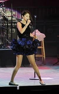 Selena Gomez Amazing Dress Singing Still